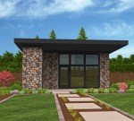 Lombard-Studio 1 Small Modern House Plan
