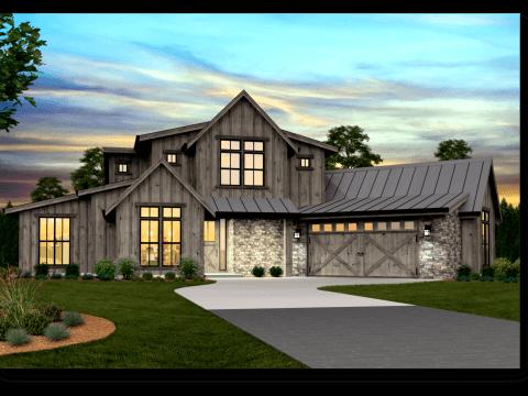 . Modern Farmhouse Plans   Rustic Farmhouse Designs   Home Plans