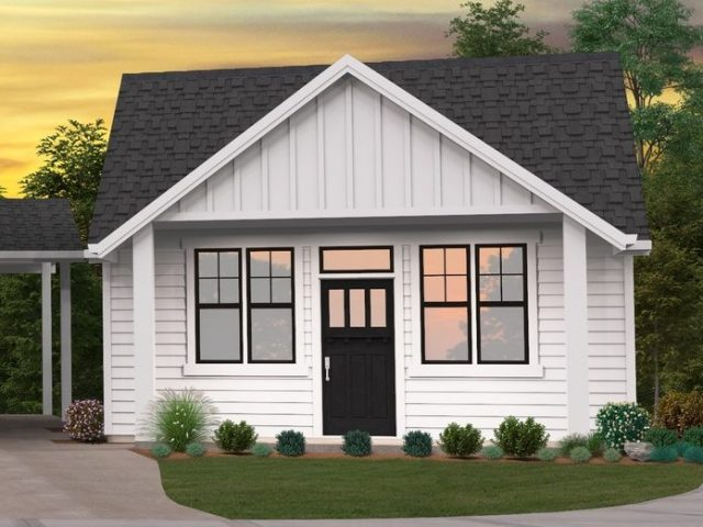 Bungalow House Plans | Modern Bungalow Home Plans with Photos