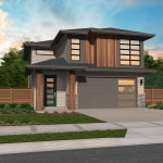 Canyon Northwest Modern House Plan