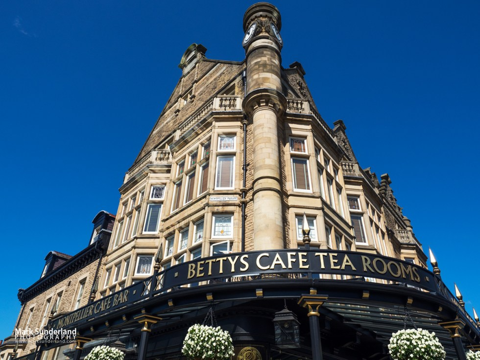 Bettys Cafe Tea Rooms at 1 Parliament Street in Harrogate, North Yorkshire
