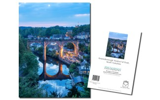 Knaresborough Viaduct at Dusk
