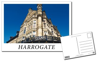 Harrogate Bettys Postcard