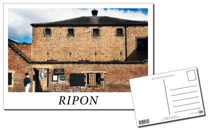 Ripon Prison and Police Museum Postcard
