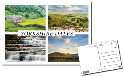 Yorkshire Dales Multiview Postcard