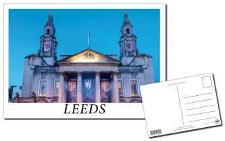 Leeds Civic Hall Postcard