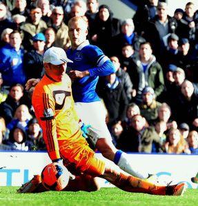 Everton 3-1 Swansea Naismith scores