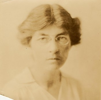 Dr. Ida Langdon as an adult