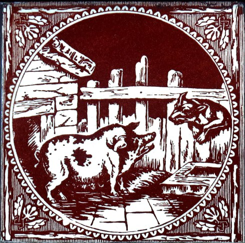 A sow and a dog were arguing about their litters. The dog said that she had the easiest delivery of all the four-footed animals but the sow responded, 'Be that as it may, the puppies you give birth to are blind!' The fable shows that an enterprise is not to be judged in terms of its speed but its outcome.