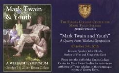 Mark Twain & Youth Weekend Symposium Program