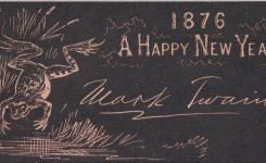 "Mark Twain Wishes ""A Happy New Year"" With 1876 Postcard"