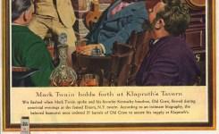 Mark Twain, Mad Magazine, & Old Crow Whiskey