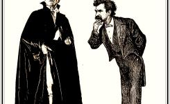 First Trouble Begins Lecture Deals with Twain and Dracula