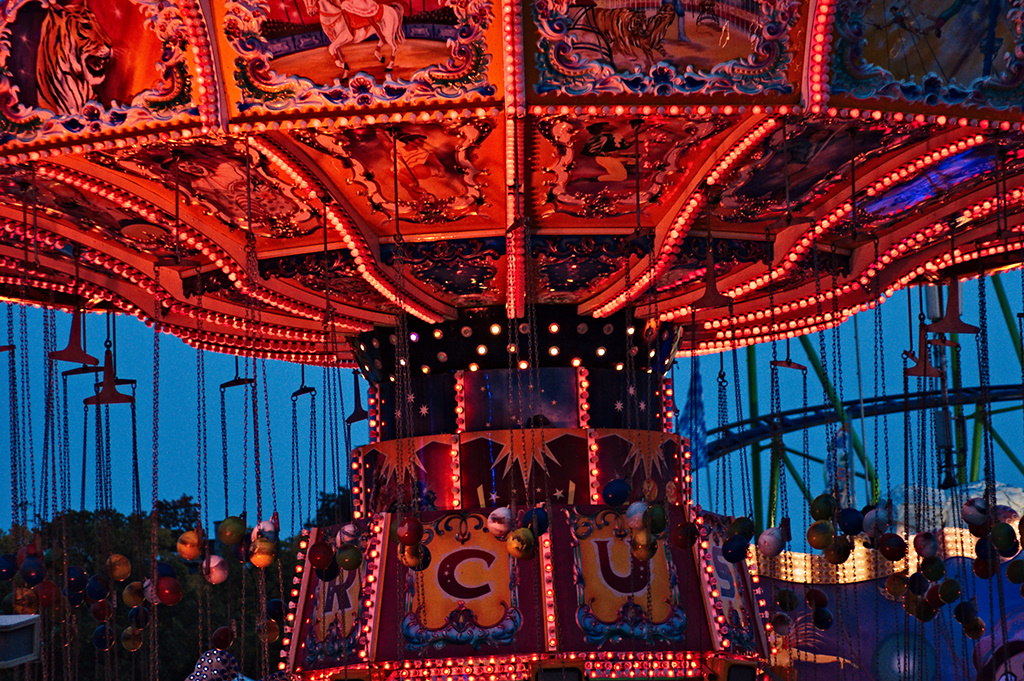 old fashioned chairoplane