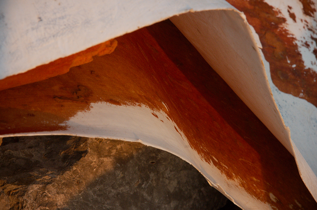 Decaying Surfboard