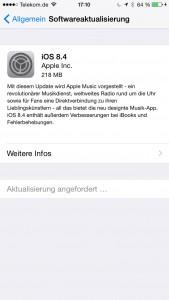 IOS 8.4. Update