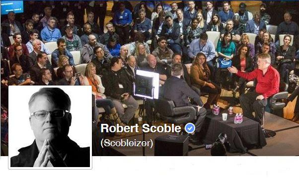 Meldung über den Wechsel Scobles als Entrepreneur in Residence zu UploadVR
