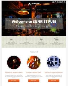 Sunrise WordPress Theme