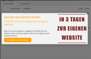 WordPress PopUp Plugin