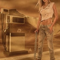 Desert Girl Photoshop Compositing