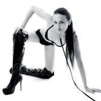 Dusche / Akt / Dessous / Lack & Leder / Fashion Shooting mit Viktoria Maxx