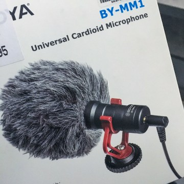 BOYA BY-MM1 Universal Cardioid Microphone Deutsch / German