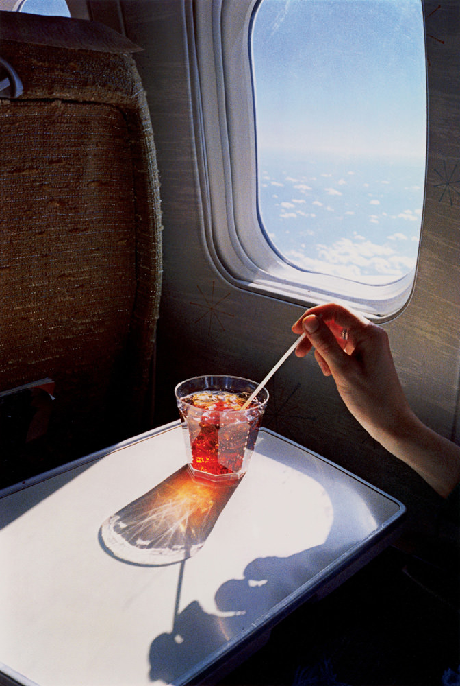 William Eggleston Airplane Drink