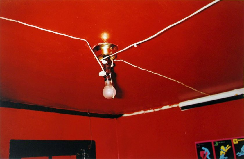 William Eggleston The Red Ceiling