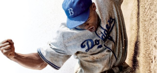 42 Movie Poster Appeals to the Eye and is Symbolic of the Story