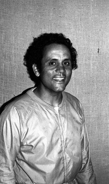 Roberto Miranda -- June 7, 1983 -- photo by Mark Weber