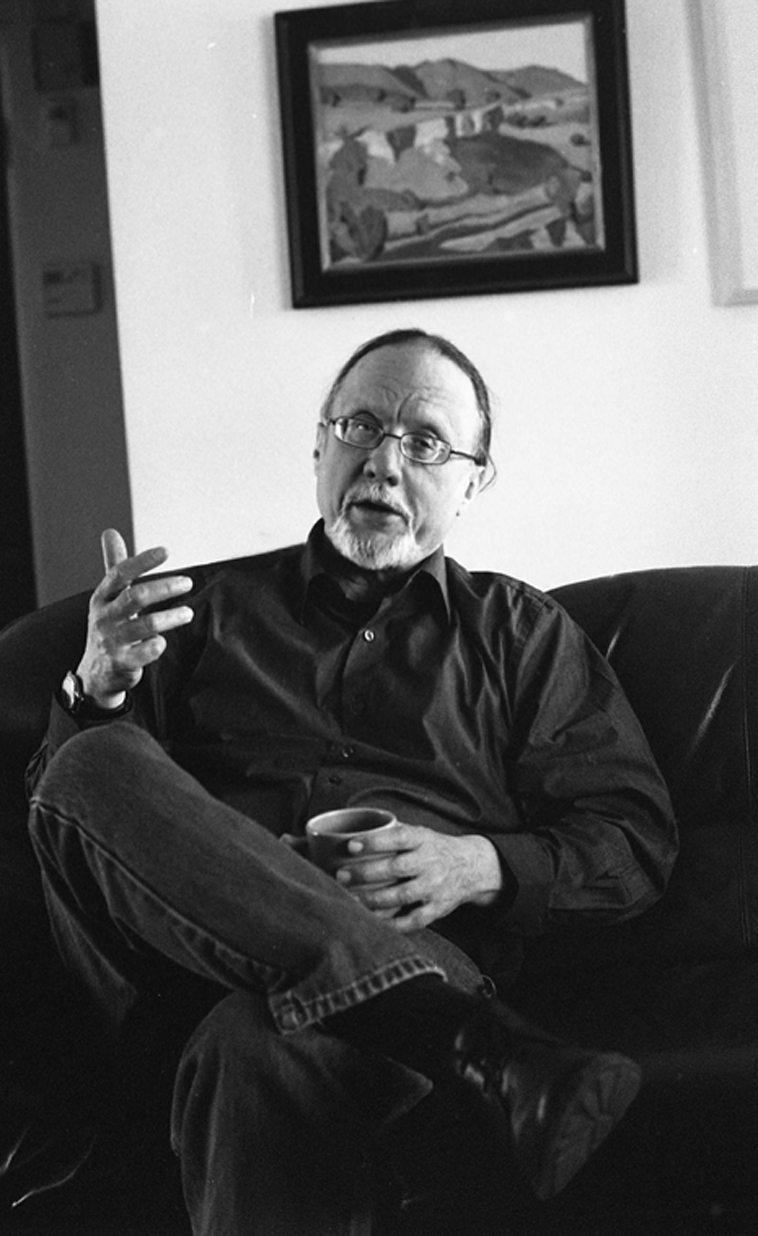 Bill Shoemaker at Studio 725, Albuquerque -- April 20, 2o13 -- photo by Mark Weber