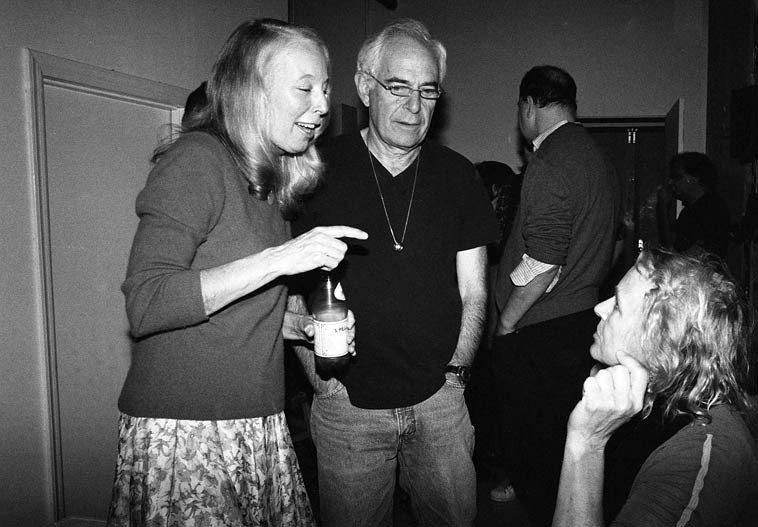 Kazzrie Jaxen and Joe Solomon and Alexa Fila -- November 16, 2o14 -- Joe is the bassist on Connie's first  album PERCEPTION back in 1974 ------ photo by Mark Weber