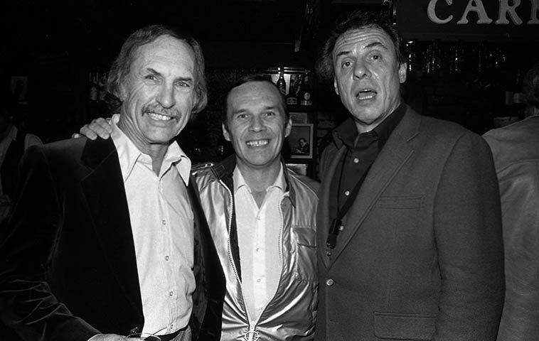 Monty Budwig, Ross Tompkins, Ira Sullivan -- Carmelo's, North Hollywood, California -- March 17, 1982 -- photo by Mark Weber