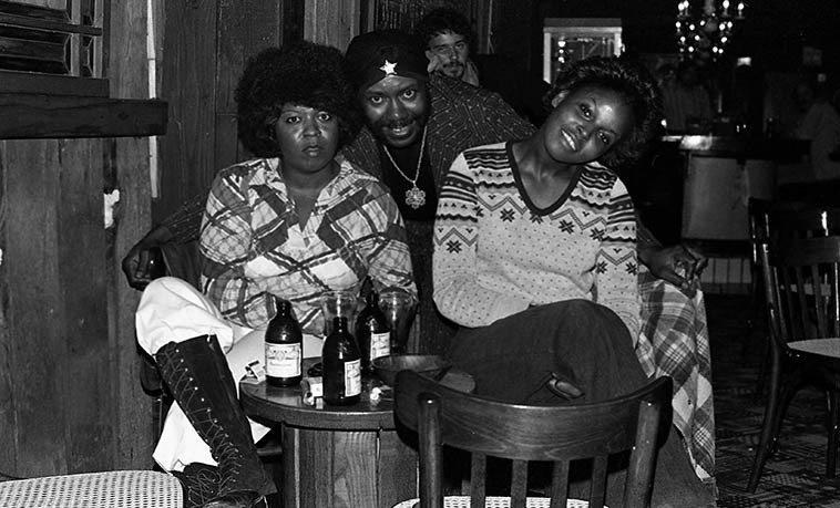 Highway 99 bluesman Sonny Rhodes at Gaspar's (Fillmore & Union) San Francisco -- August 29, 1978 -- photo by Mark Weber