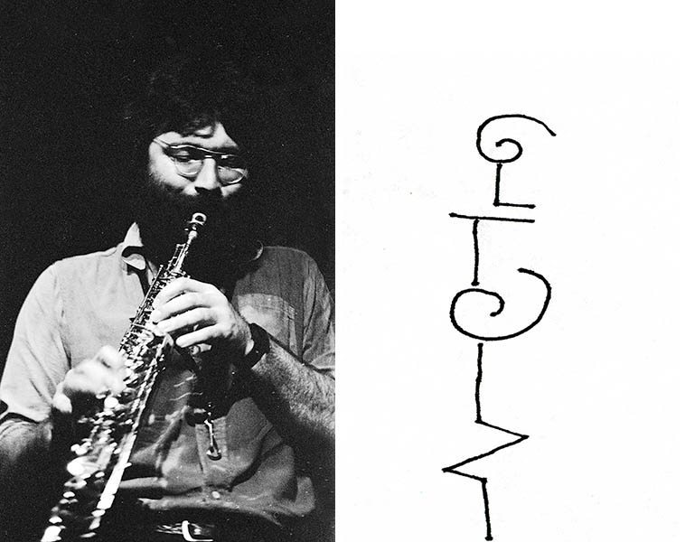 Evan Parker -- October 29, 1978 -- photo by Mark Weber -- His solo work just knocks me out and is completely different than his ensemble approach -- with the solo he does things you have never heard before on a saxophone, long coruscating entwined threads that go on for ten, twenty, thirty minutes, circular breathing, with little explosions that pop out the holes completely mystifying and riveting -- He has made somewhere in the neighborhood of 14 solo albums and all but one are on soprano saxophone, in the last half hour of today's show we'll listen to Evan Parker solo