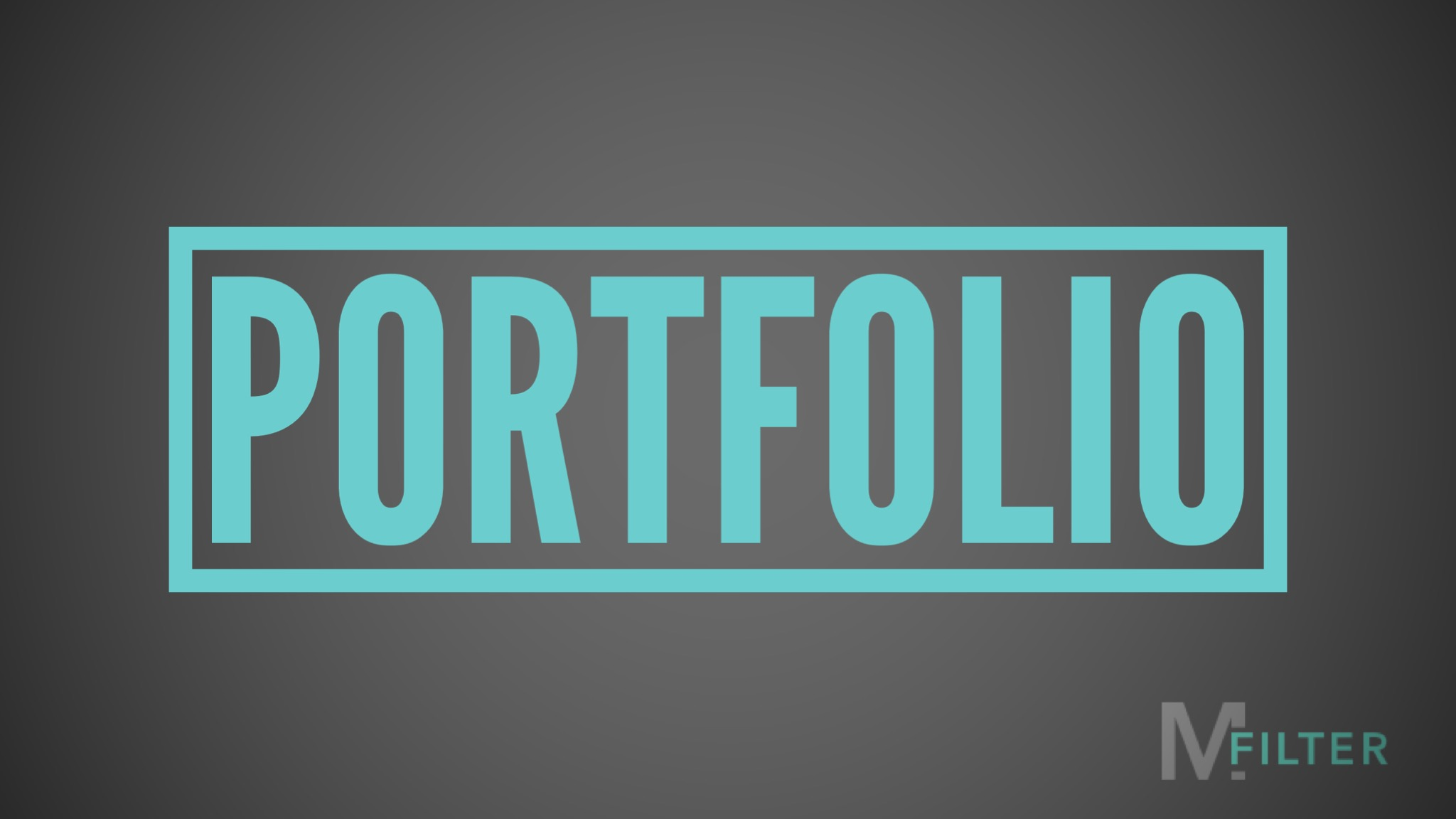 Featured Image for Mark Filter's Portfolio
