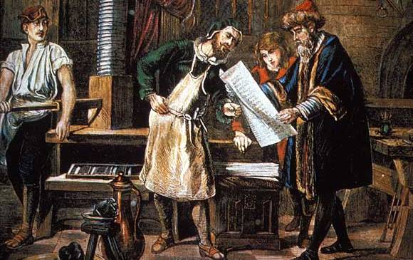 Gutenberg Printing Press Contributed to Printing and Publishing