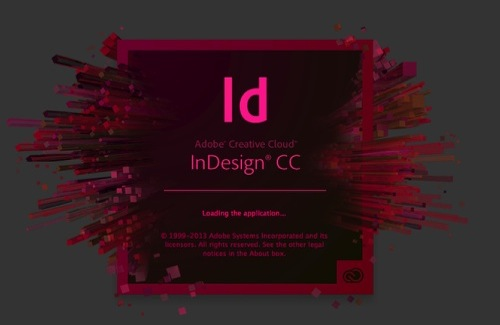Markzware Q2ID for InDesign CC Start Up InDesign