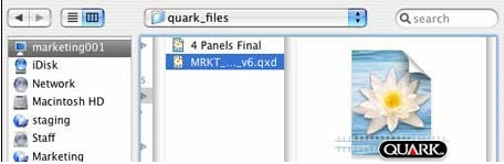 Markzware's DTP File Recovery Service Can Recover QuarkXPress Data and Save Quark Files (QXP and QXD)
