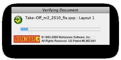 Markzware MarkzTools Verifying QuarkXPress Project