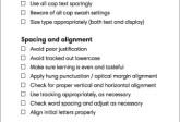 Typografische Checkliste für Preflighting mit Markzware Flightcheck