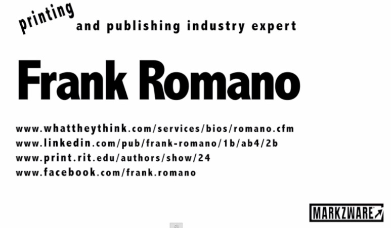 PDF Editing with Frank Romano and Markzware PDF2DTP