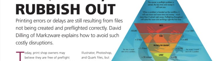 Preflight for Printers: Preflighting Rubbish in, Rubbish out