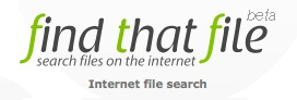 Find That File search engine logo