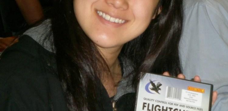 Markzware FlightCheck Winner, Jen Tseeng, Hewlitt Packard