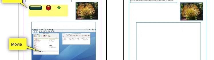 Convert InDesign Document