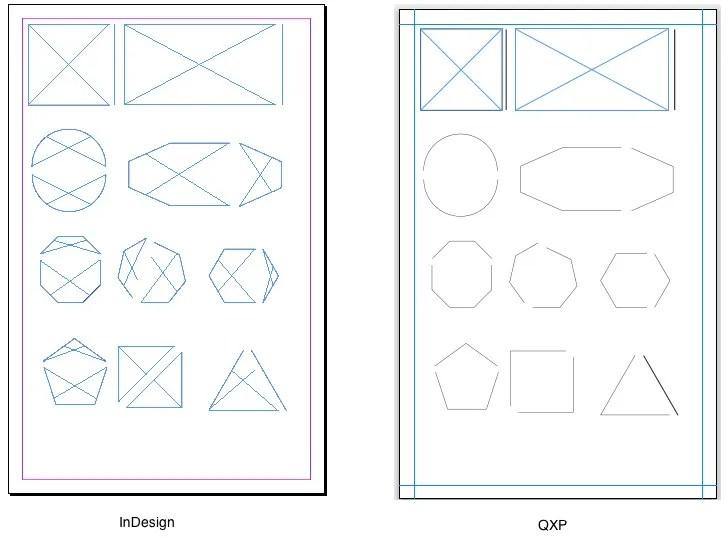 Markzware ID2Q for QuarkXPress Open Polygon Conversions