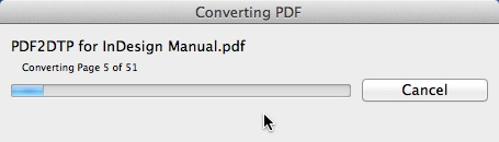 Markzware PDF2DTP for InDesign Conversion