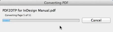 Markzware PDF2DTP for InDesign Conversion