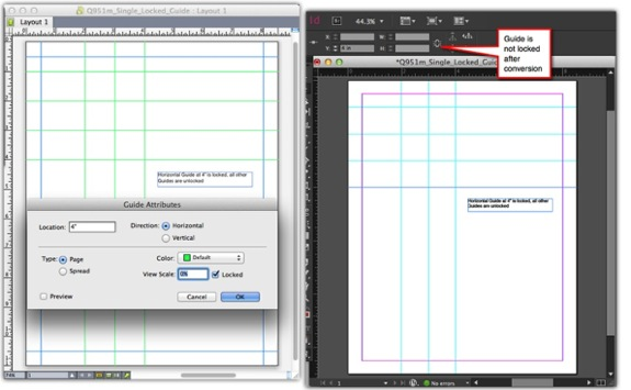 Q2ID Adobe InDesign CC 2018 Plugins Convert QuarkXPress to InDesign, including Guidelines